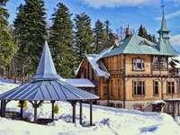 stațiune de iarnă din Munții Tatra