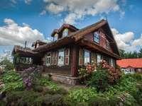 casa do jardim, céu