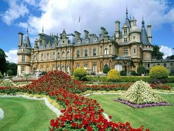 Zetel van koningen - Buckingham Palace in Engeland