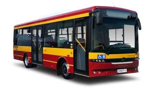 AUTOBUS CZERWONY - Spróbuj ułożyć czerwony autobus