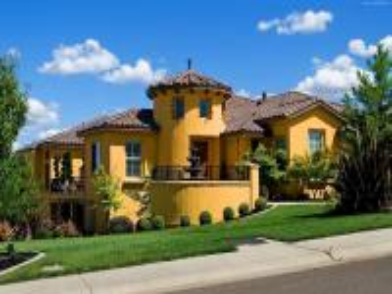 An interesting house - Oryginalna i ładna budowla...
