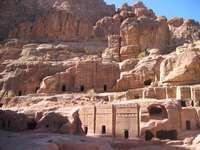 Petra în Iordania
