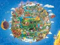 nasza planeta Ziemia - świat z tysiąca kawałków