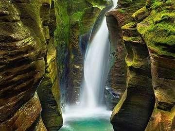 Una maravillosa cascada