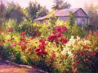 festett kép