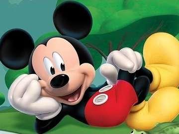 myszkamiki2 - Puzzle fuer 3-jaehrige Kinder