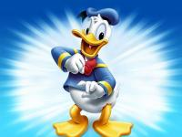 Donald Duck - puzzle 4 elements for 3-year-old children