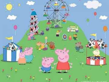 Peppa Schwein Cartone - Peppa Schwein gioca al parco