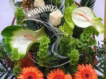 flower basket - Koszyk kwiatów na okazję
