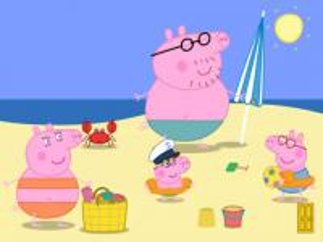 Peppa Pig - Świnka Peppa, Peppa, Georg, Mama Świnka, Tata Świnka