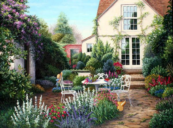 quadro pintado - imagem sem título (10×10)