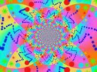 caleidoscopul colorat