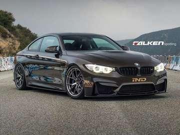 BMW M7 sports car - nie spać zwiedzać zapierdalać