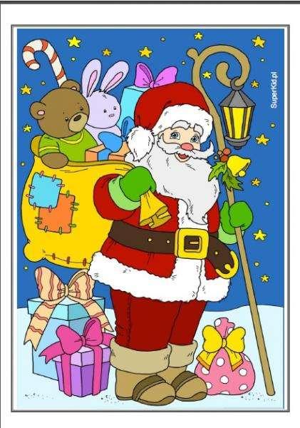 Коледа онлайн пъзел
