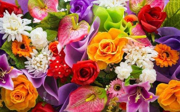 ¿Qué flores son estas - Do wyboru (10×8)