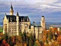 хубава картина на замъка