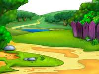 Fantasi landskap