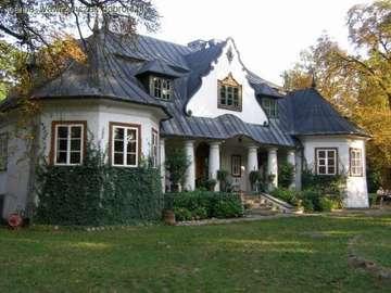 Villaggio polacco in architett - Polish manor house