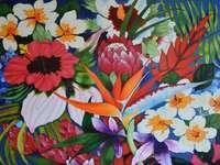 Different flowers - Bukiet kolorowe kwiaty