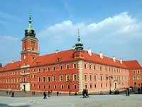 koenigliches Schloss - Koenigliches Schloss. Zamek królewski mit warszawie na starym miescie. Zamek królewski na starym m