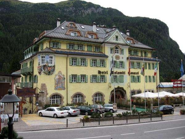 Italia - Dolomity, Canazei