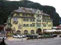 Italie - Dolomites, Canazei - Italie - Dolomity, Canazei