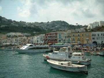 Italia - île de Capri - Italie - Wyspa Capri