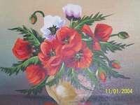 bloemen op de foto