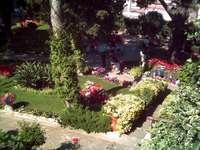 Italia - Capri: Gardens of Augustus - Italia - Capri: Trädgårdarna i Augustus är en annan attraktion vars rötter går tillbaka till fo