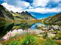 Szlovákia - tó a Tátra-hegységben