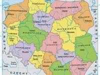 térkép Lengyelország