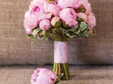 Hermosas flores - wiązanka różowych kwiatów