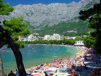 strand in Kroatië