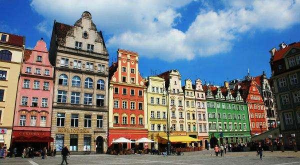 appartamenti a Wroclaw - Domy, kamienice, Kolorowe, zabytkowe (10×10)