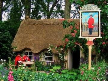 Na angielskiej wsi - Miniatura domu na angielskiej wsi