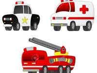 paznicul de ambulanță al poliției