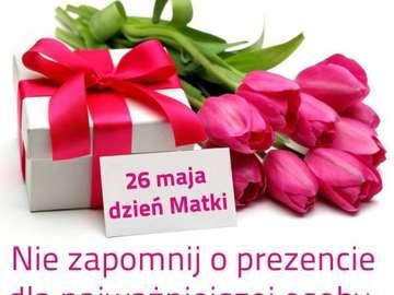 Dzień Matki - z życzeniami w Dniu Matki