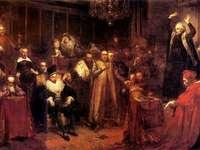 Жалба проповед - Жалба проповед. Проповедта на Скарга - картина на Ян Ма�