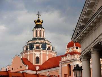 Architecture of Vilnius - Kopuła kościoła Św. Kazimierza Królewicza