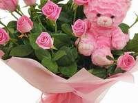 nallebjörn rosor