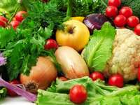 zöldségek enni
