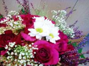 autumnal bouquet - Jesienny, bo z wrzosami i chryzantemami.