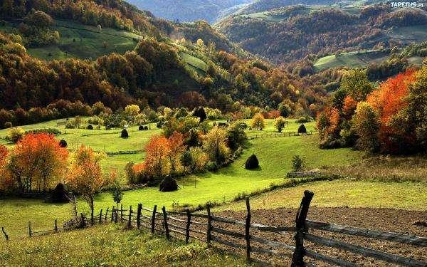 Színes őszi táj