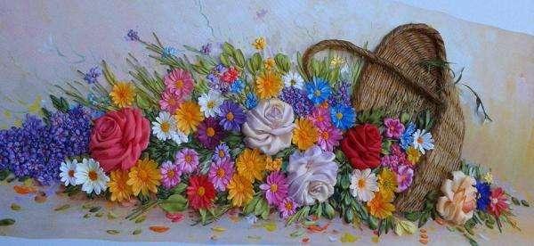 mand - en de bloemen vloeiden eruit (7×7)