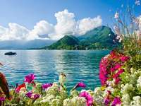 O panorama frumoasa placuta
