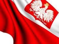 национална емблема на Полша - Опитайте се да подредите полската емблема