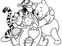 Мечо и приятели - Koko струни 2. Книжка за оцветяване за деца.