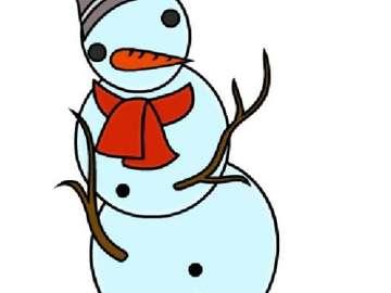 sneeuwman Krysia - Maak een sneeuwpop Krysia