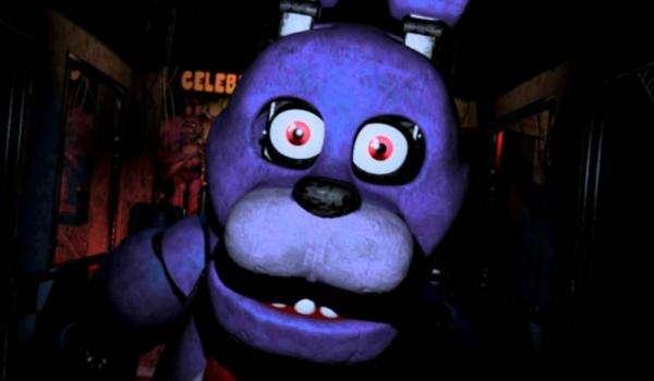 Bonnie mit Fnaf 1 Version 2 10 - Bonnie z fünf Nächte im Freddy's 1 Wersja 2 10x10 (10×10)