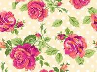 papel de parede com rosas
